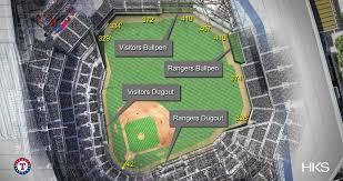Texas Rangers Unveil Globe Life Field Dimensions Ballpark Digest