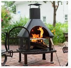 fire pit outdoor backyard patio
