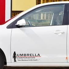 2 X Reflective Car Styling Umbrella Corporation Accessories Car Sticker And Decal For Volkswagen Polo Golf Skoda Ford Focus Kia Car Sticker Car Stickers And Decalsstickers And Decals Aliexpress