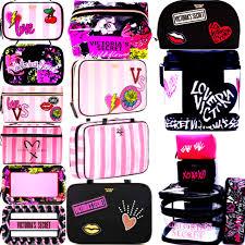 cosmetic case double zip makeup bag