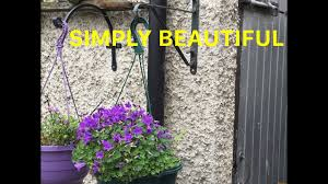 Life Hacks How To Fit A Plant Hanging Basket Bracket To A Concrete Block Wall Youtube
