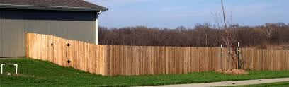 Wood Fence Pictures Aaa Fence Lawrence Ks