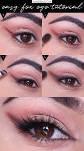 5 step easy fox eye makeup tutorial