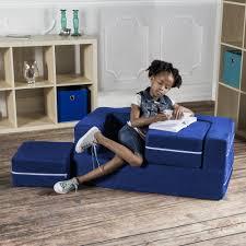 Shop Jaxx Zipline Modular Kids Loveseat With Ottomans On Sale Overstock 10324882