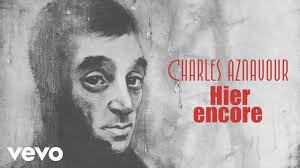 Charles Aznavour - Hier encore (Audio Officiel) Chords - Chordify