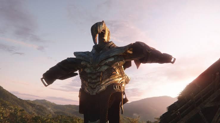 Thanos' Death in Endgame