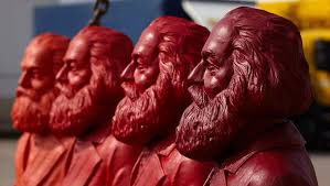 garden gnome statues of karl marx