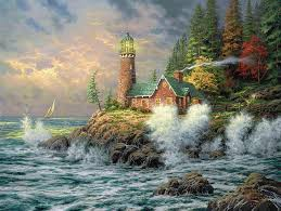 hd wallpaper sea lighthouse picture