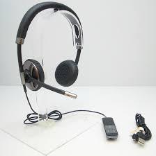 Plantronics Blackwire C720 Graphite/Silver Headband Headsets for ...