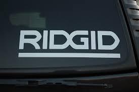 For Ridgid Sticker Vinyl Decal Tool Box Truck Gun Safe Car Choose Size To2v429 Car Styling Car Stickers Aliexpress