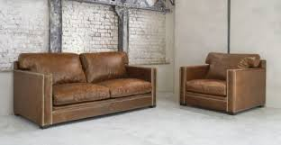 leather armchair in brown dandy