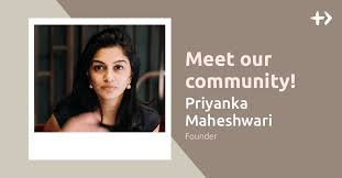 Community Spotlight: Priyanka Maheshwari, Founder | by Time Auction | Medium