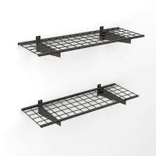 mesh hyloft wall mounted shelves