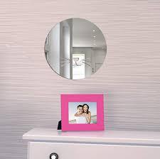Amazon Com Home Wall Decor Nordic Acrylic Mirror Cartoon Wall Camera Props Kids Room Wall Decoration K Pillows Decorative For Home Home Kitchen