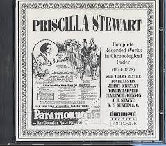 Priscilla Stewart - 1924-1928 / Document CD-5476 – Down Home Music Store