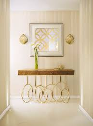how to choose a modern console table