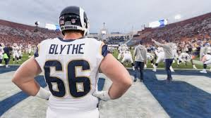 Blythe Ready to Fill In at Right Guard
