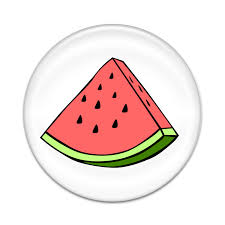 Watermelon Slice 2 Sticker Set For Pop Grip Stent For Phones And Tablets Stickers Only