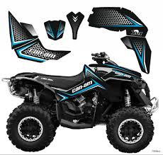 Brp Can Am Renegade Decals Kit 2006 2018 790y
