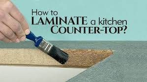 how to laminate a kitchen countertop