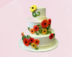 sun flower cake 4 kg cake