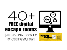 40 Free Digital Escape Rooms Plus A Step By Step Guide For Creating Your Own Ditch That Textbook