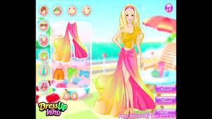 barbie beach dress up