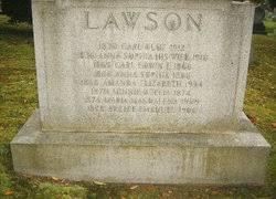 Anna Sophia Lawson (1866-1868) - Find A Grave Memorial