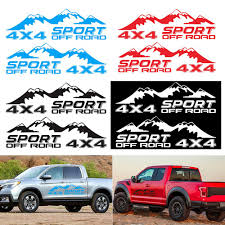 2 Pcs Graphic Vinyl 4x4 Off Road Car Sticker Pickup Truck Decal For D Max Navara Buy At The Price Of 9 76 In Aliexpress Com Imall Com
