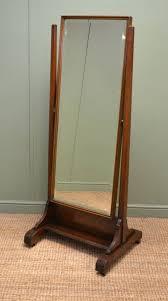 mahogany antique cheval mirror 257617