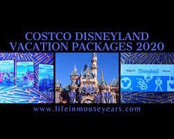 costco disneyland vacation packages