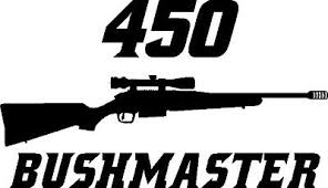 450 Bushmaster Ar 15 Gun Rifle Ammunition Bullet Exterior Oval Decal Sticker Car Decals Stickers