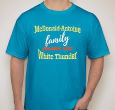 McDonald-Antoine Family Reunion 2020 for all relatives of Mike McDonald and  Rachel Antoine McKay. Custom Ink Fundraising