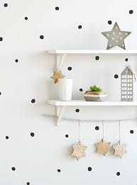 Amazon Com Simple Shapes Irregular Dots Wall Decals 0 75 1 Inch Dots Black Furniture Decor