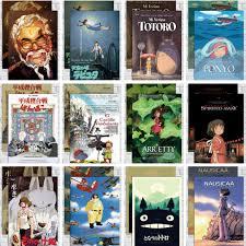 Hayao Miyazaki Anime Phim Hoạt Hình Movie Kraft Tờ Giấy Khổ Hình Nền Tường  Sticker Truyện Tranh Xung Quanh Totoro Spirited Away | Lumtics | Lumtics -  Đặt hàng cực dễ -