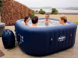 Best inflatable hot tub in 2020: Intex PureSpa - Business Insider