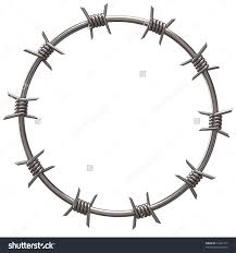 Barb Wire Drawing Easy Drawing Art Ideas