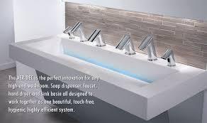 sloan aer dec commercial restroom sinks