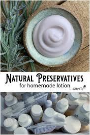 natural preservatives for homemade