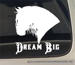Horse Decals Barefoot Custom Creations