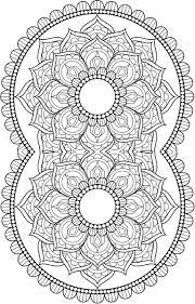 Coloring For Adults Kleuren Voor Volwassenen Mandala
