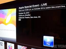 iPad mini event will be streamed live on the web to iOS, Mac, and Apple TV  users - The Verge