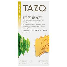 tazo tea green tea green ginger 24