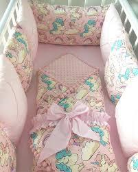 baby girl crib bedding set unicorn