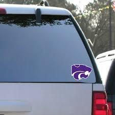 Kansas State University Window Decal Set Of 2 Wildcat