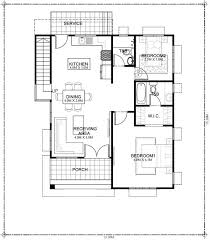 house plan designed for 198 square meters