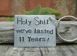 11th steel wedding anniversary gifts