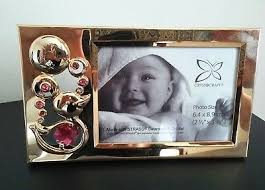 keepsake baby frame pink swarovski