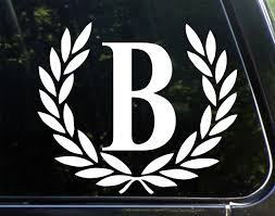 Sweet Tea Decals Letter B Large Size D Buy Online In India At Desertcart