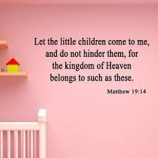 Let The Little Children Come To Me And Do Not Hinder Them Wall Etsy